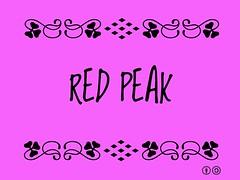 Buzzword Bingo: Red Peak, aka #RedPeak