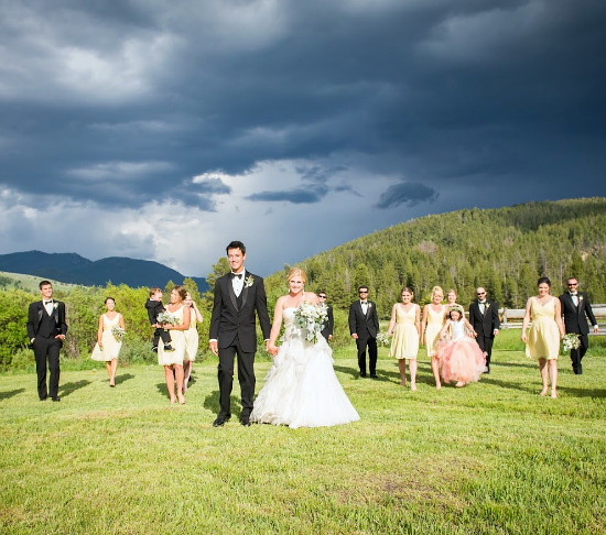 Hi Sugarplum | Montana River Wedding