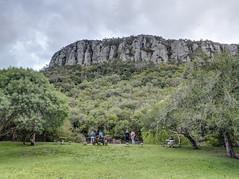 Cerro de los Cuervos desde el Complejo Laguna de los Cuervos