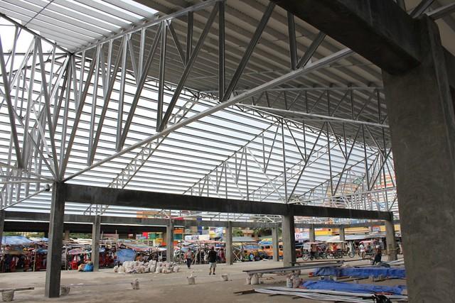 Baybay City public market (ongoing rehabilitation) - June 2015