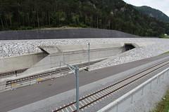 AlpTransit NEAT - Nordportale - Baustelle Erstfeld UR