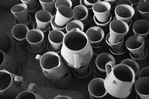 CeramicPotsCastelliBW