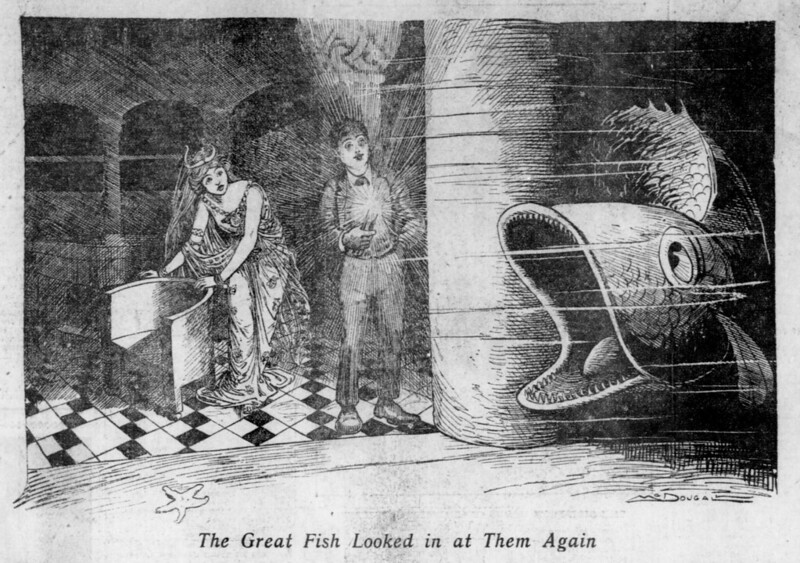 The Salt Lake herald., February 28, 1904, The Great Fish Looking in at Them Again