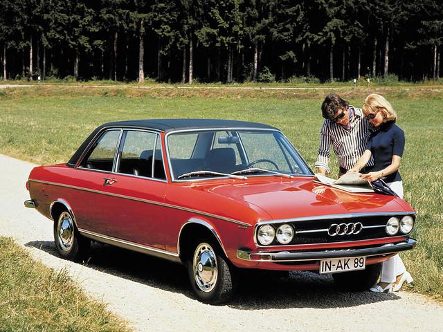 Купе Audi 100 LS C1. 1969 – 1973 годы
