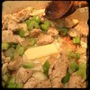 #Homemade #ChickenSlop #CucinaDelloZio - add butter