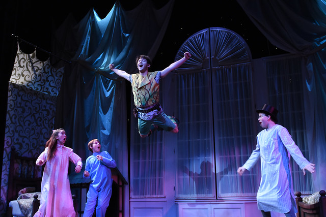 Peter Pan in Rehearsal