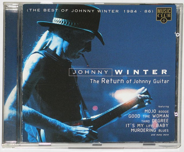 JOHNNY WINTER RETURN OF JOHNNY GUITAR