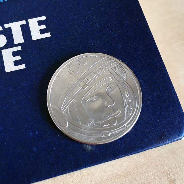 Valentina Tereshkova coin