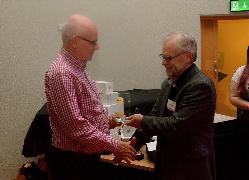 Roland Andersson tar mot instrumentalistpris i div 2
