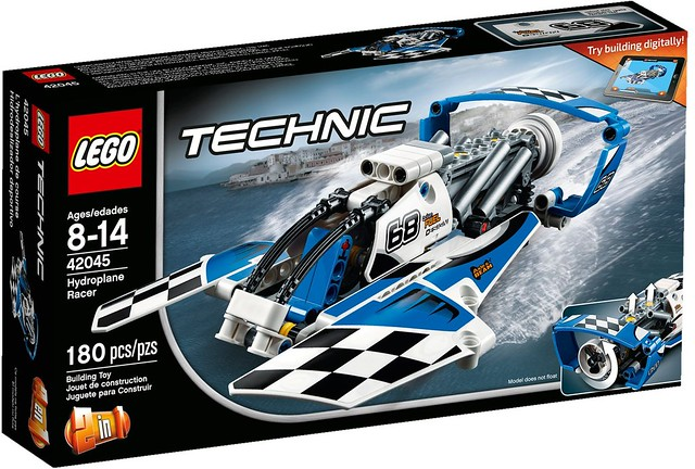 LEGO Technic 2016: 42045 - Hydroplane Racer