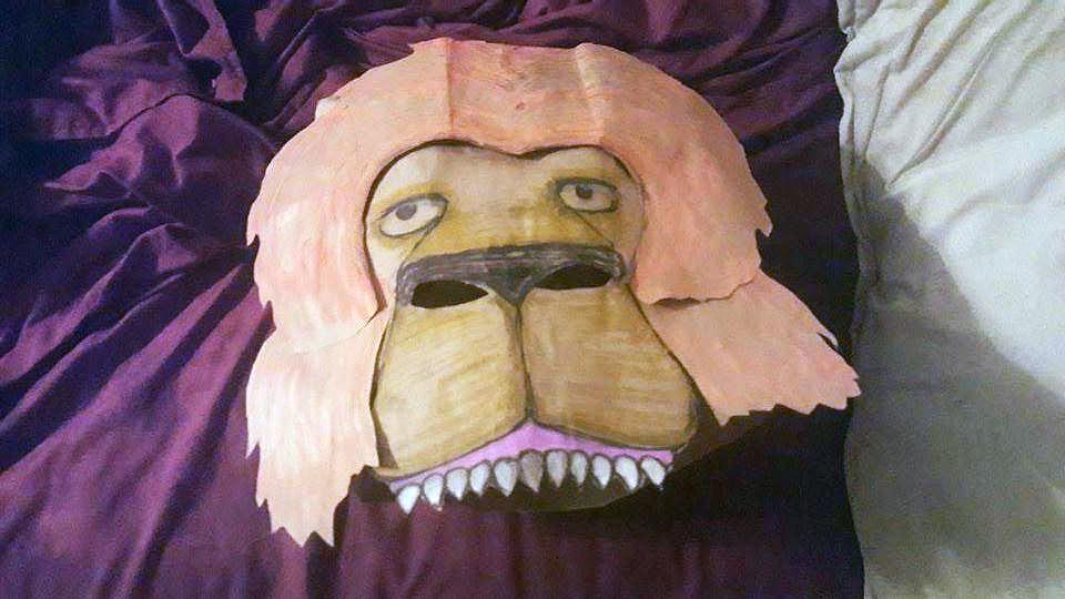 lion mask 1