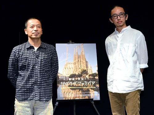映画『創造と神秘のサグラダ・ファミリア』イベントより、佐藤健寿氏と岡啓輔氏