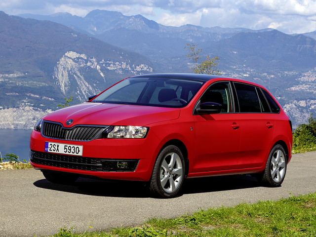 Хэтчбек Skoda Rapid Spaceback. 2013 год