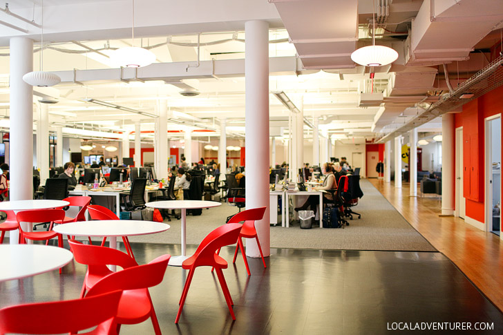 Where All the Internet Magic Happens - Touring the Buzzfeed Headquarters in NYC.