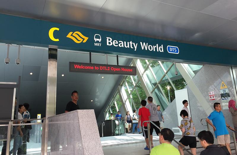 Beauty World Station Open Day