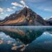 Morning Sun on Crowfoot Mountain by Kirk Lougheed