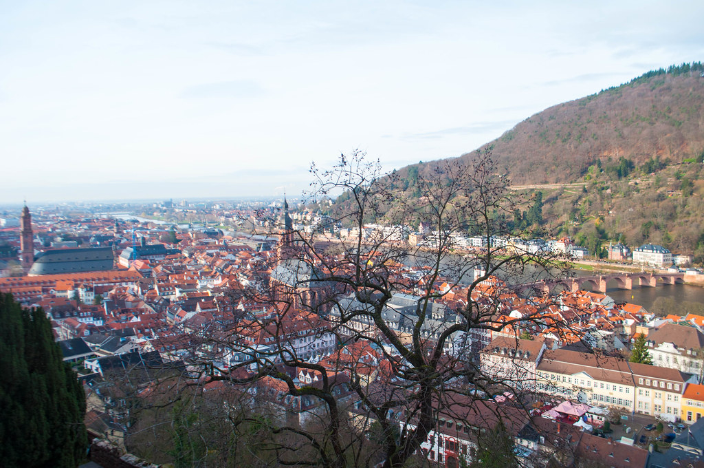 View from Heidelberg Castle - Heart of Germany Christmas Market Cruise with Viking River Cruises, Dec. 2015