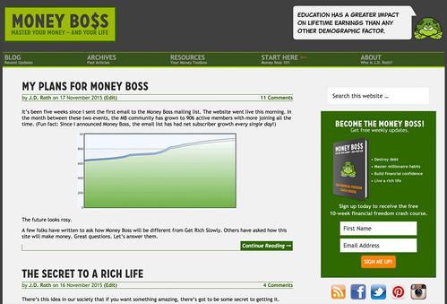 Money Boss screenshot