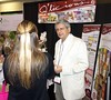 Q Foods Canada, Sam Dhutia exhibiting gourmet chocolate bars