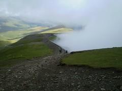 The descent down Llanberis Path Image