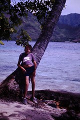 Tahiti Trip with Laurie 1992