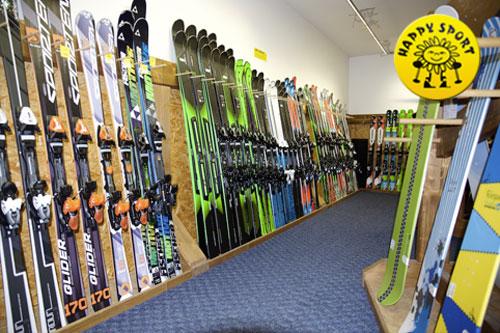 Poukázka na půjčovnu lyží, snb, běžek nebo lyžařského vybavení HAPPY SPORT Letňany