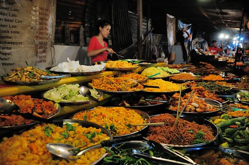 Luang Prabang Night Market, Laos
