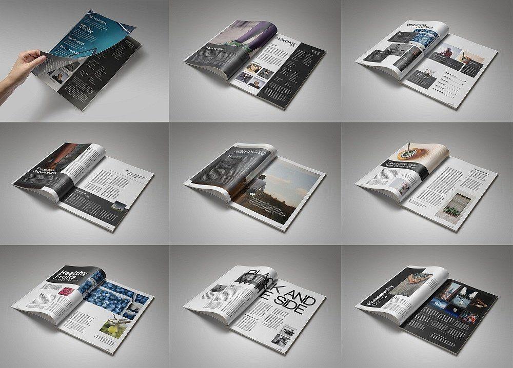 template bìa sách - Template Bìa Sách, Tạp Chí