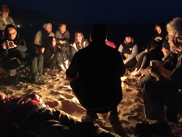 Around the Fire-Cannon Beach