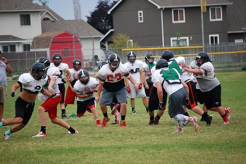 Football practice 13