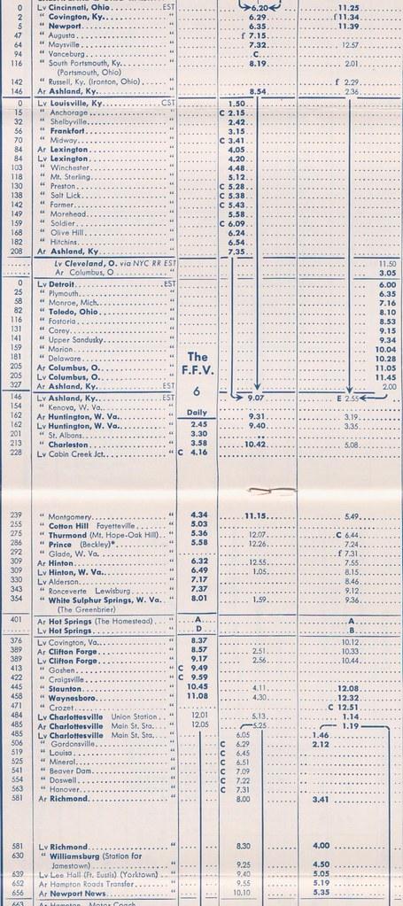 C-O 1959 Mainline East