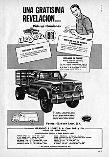 1961 DeSoto Truck Ad (Argentina)