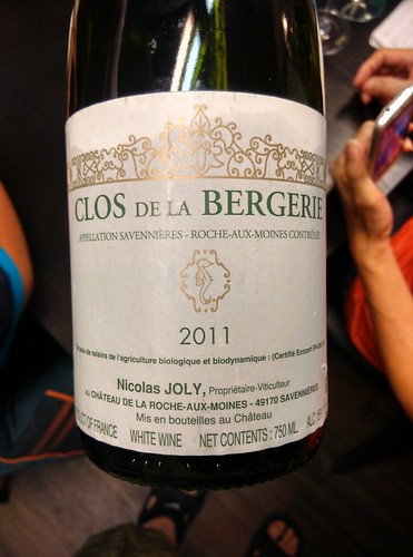 Nicolas Joly 2011 Clos de La Bergerie
