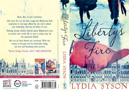 Lydia Syson, Liberty's Fire