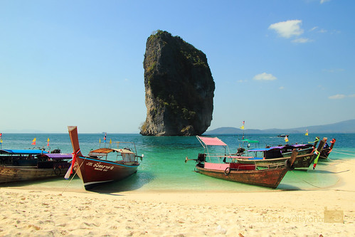 Poda Island, Krabi, Thailand