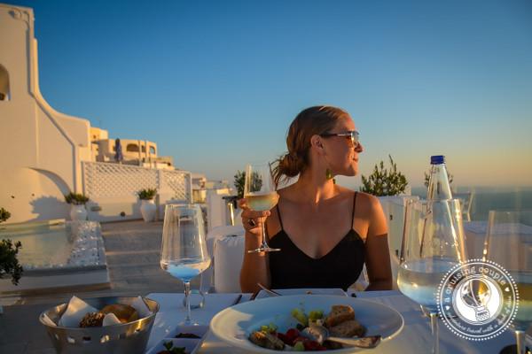Gastronomy Santorini A Cruising Couple