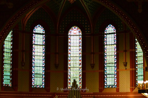 Battell Chapel Stained-glass Windows