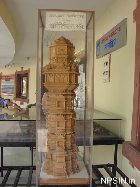 Model of Kirti Stambh