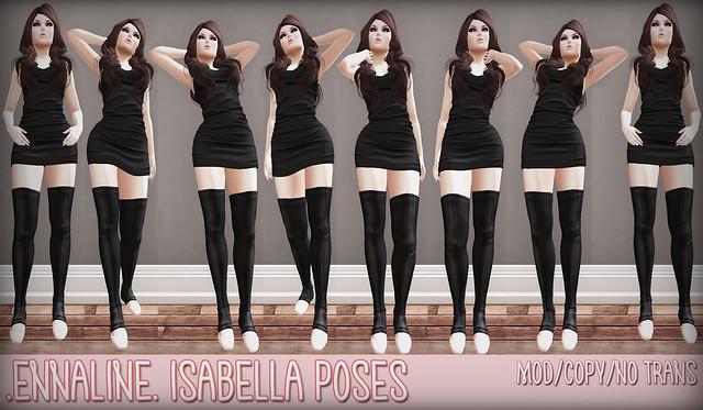 .ennaline. Isabella Pose