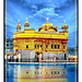 Golden Temple with Oil Painting by Chic Wall