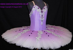 lilac shaded  classical ballet tutu