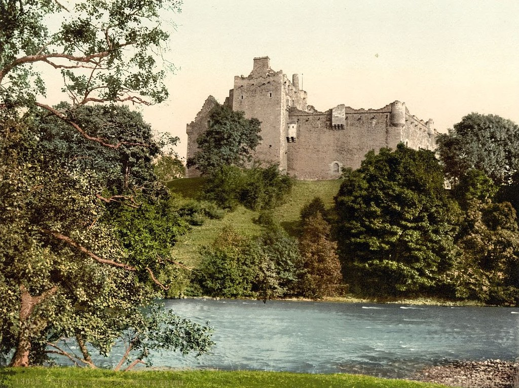 Doune Castle from the Teith