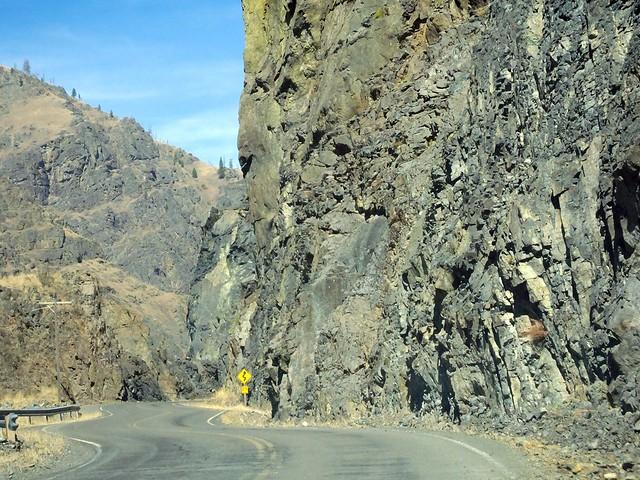 Hells Canyon Twisty-Curvy Road