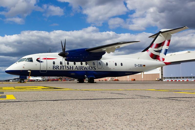 British Airways - D328 - D-CIRI (1)