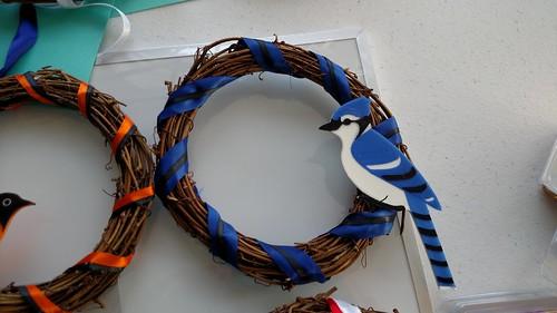 3D Printing - Blue Jay Wreath