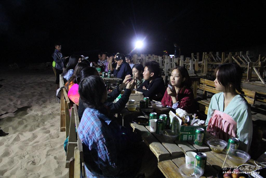 絲路-敦煌鳴沙山月牙泉-沙漠露營02