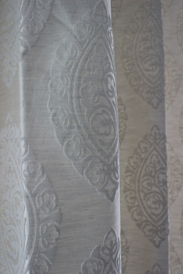 customised cotton linen curtains