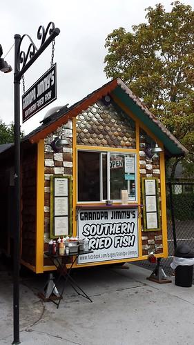 fried fish food cart portland