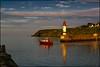 Lighthouse.  Groix by Claire Pismont