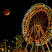 Moon over wheel by montrealmaggie